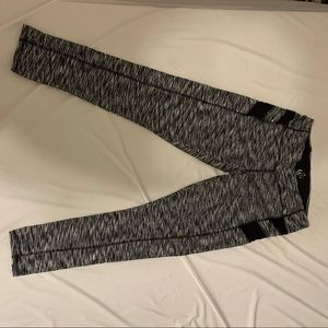 Black/White Pattern Leggings